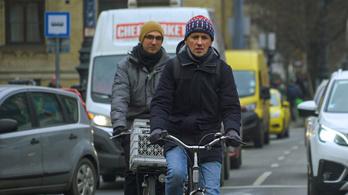 Nesztek, itt egy bicikliút, örüljetek neki