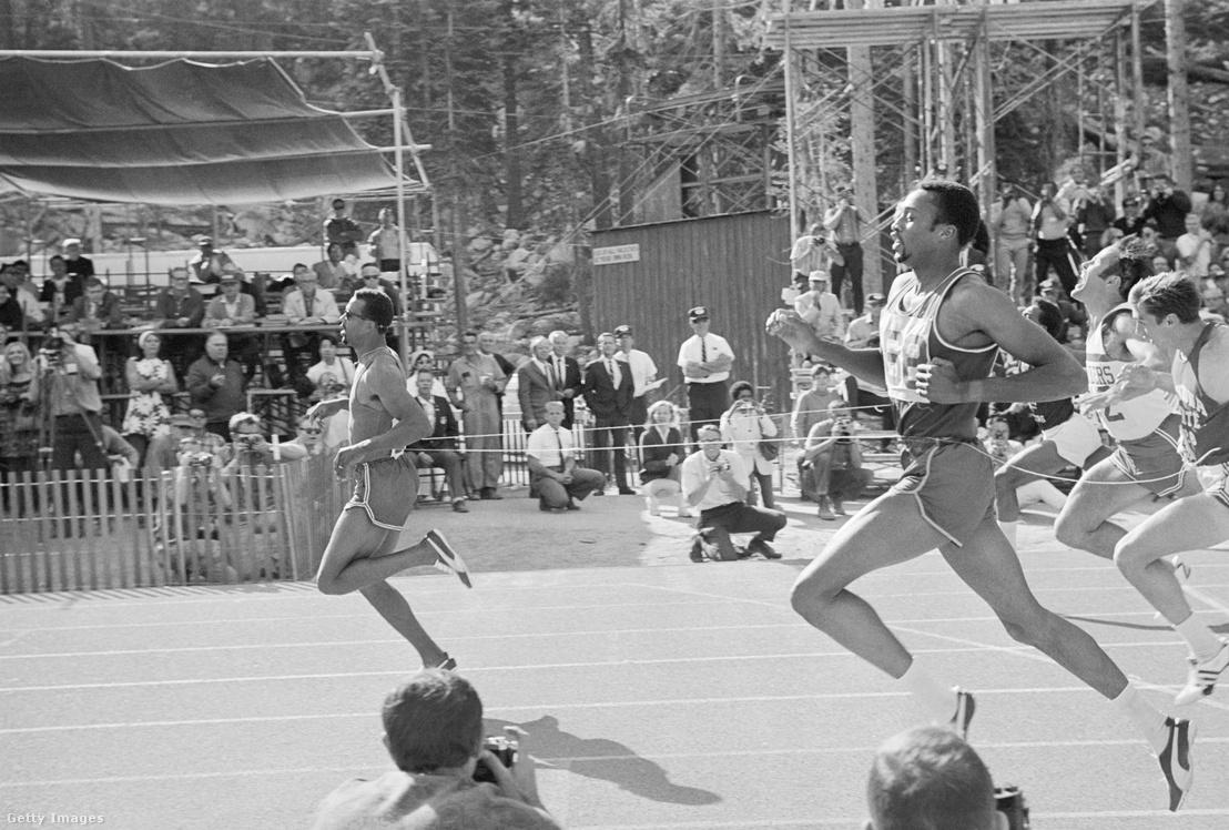 Az amerikai John Carlos (259) világrekorddal nyerte a 200 métert. Richard Stene (Nagy-Britannia) (424) és Edwin Johnson (126) (Bahama-szigetek)
