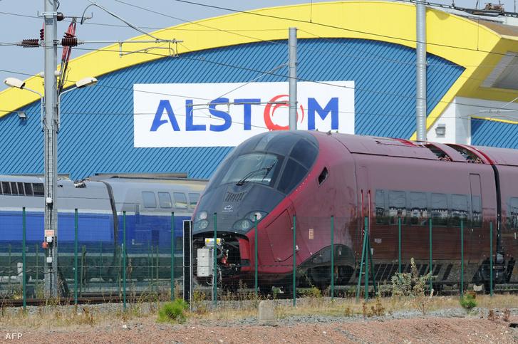Az Alstom által gyártott nagysebességű vonat, az AGV-vonat 2010. szeptember 4-én