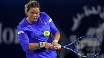 Vereséggel tért vissza a 7 év után újra teniszező Kim Clijsters