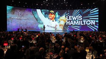 Egyező szavazatszámmal nyert nagy sportdíjat Hamilton és Messi