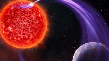 A vörös törpe elszívja a bolygója életerejét