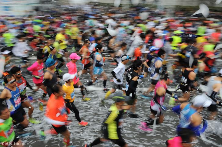 Amatőr mezőny a 2018-as Tokió Maratonon