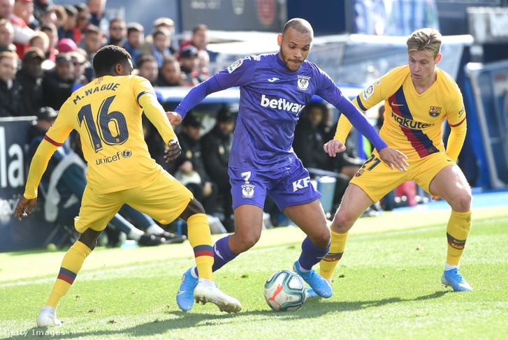 Martin Braithwaite egy korábbi, Barcelona elleni meccsen