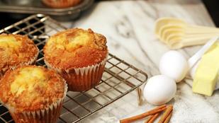 Fenséges fahéjas csiga muffinformában glutén- és cukormentesen
