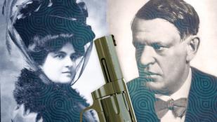 Karinthy Frigyes revolverrel szöktette meg szeretőjét a férjétől
