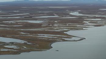 Metánszivárgások millióit találták a felolvadó permafroszt repedéseiben