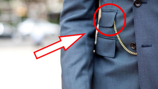 Mire szolgál az öltönyök második zsebe? Nem, nem az órának van...