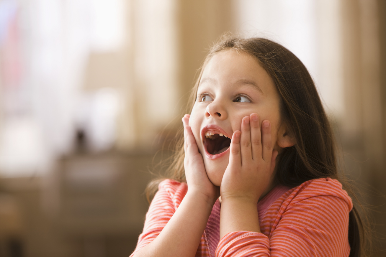 gyerekprogram nyitó kislány