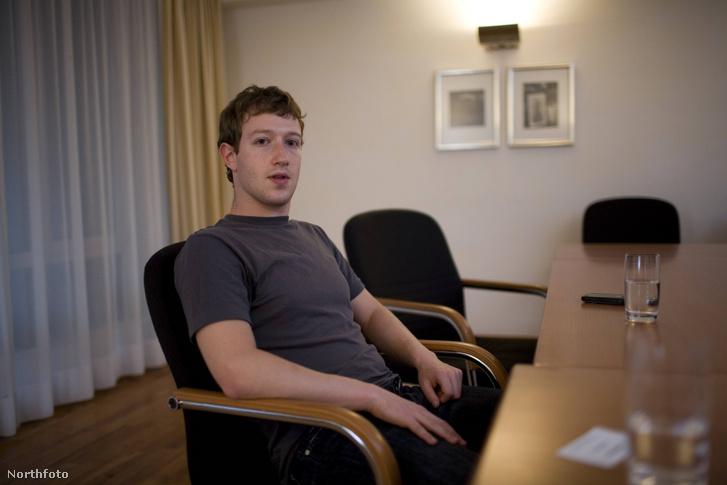 Mark Zuckerberg 2008-ban