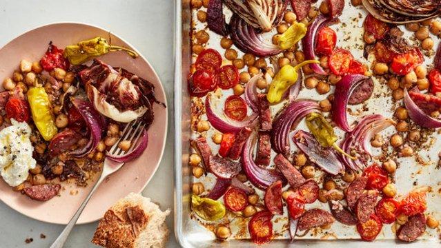 Olasz bedobálós vacsora - ennél egyszerűbb már nincs is!
