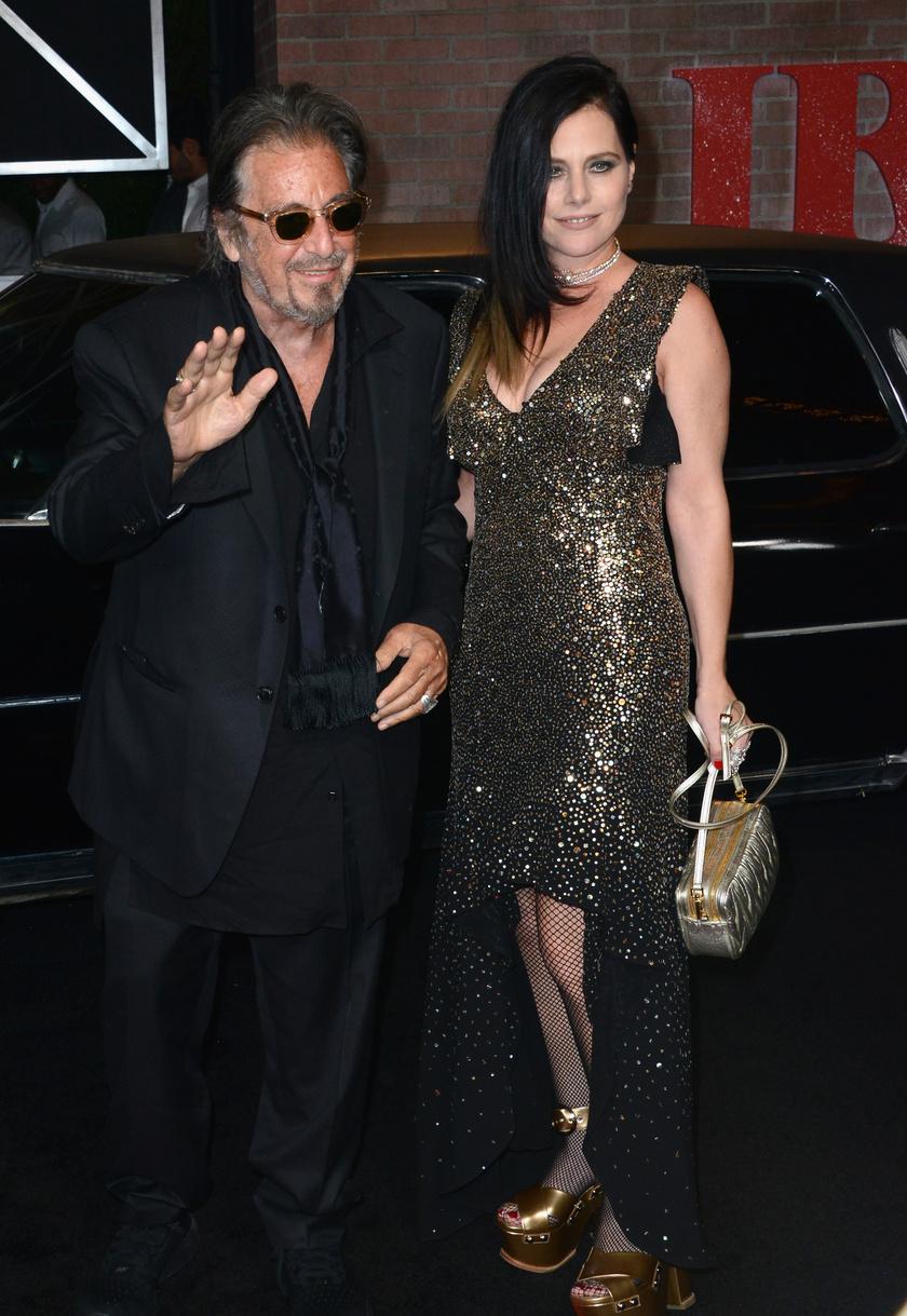 Al Pacino és Meital Dohan 2019 októberében.