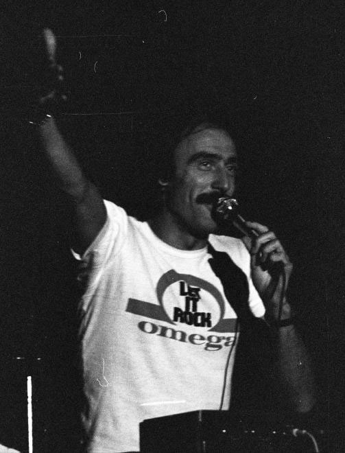 A disc jockey Keresztes Tibor, vagyis Cintula 1978-ban
