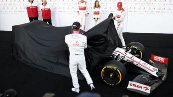 F1: Räikkönenék leleplezték az Alfát, Vettel nélkül indult a teszt