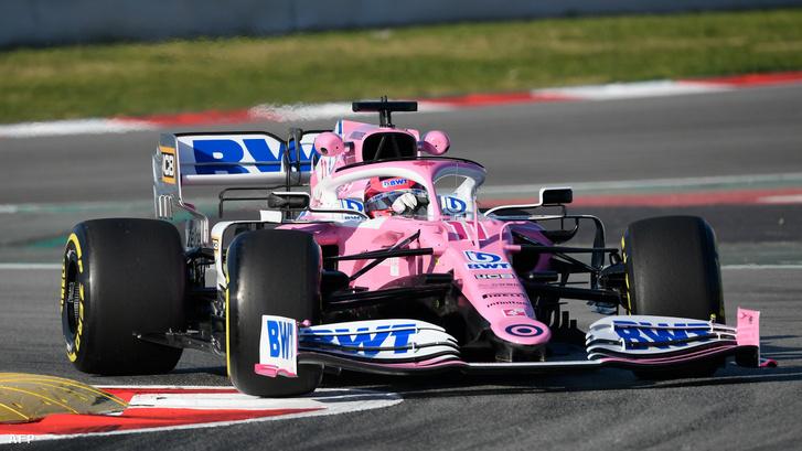 A Racing Point Sergio Perezzel váratlanul gyors, az RP20 nagyon hasonlít a tavalyi Mercedesre