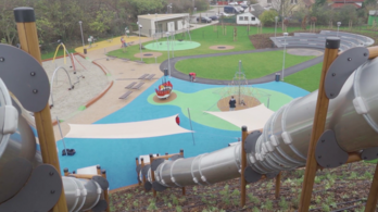 Másodszor is átépíttetia balesetveszélyes csúszdaparkot a polgármester