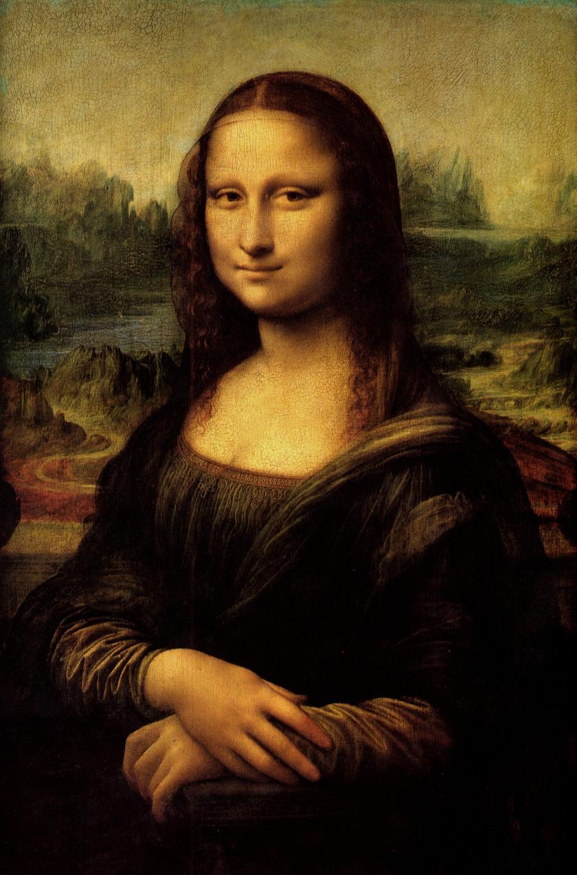 Sok festménnyel ellentétben nem vászonra, hanem fafelületre festette Leonardo, a történészek szerint az évszázadok restaurálási munkálatai miatt egészen máshogy nézhetett ki eredetileg a kép, mint amit ma ismerünk.
