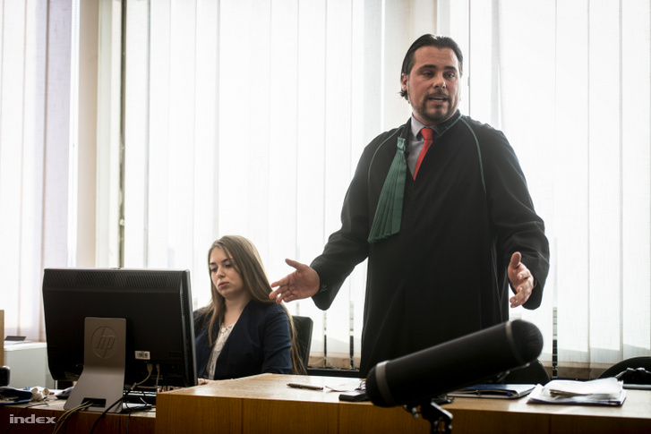 V. László ügyvédje, László Péter András