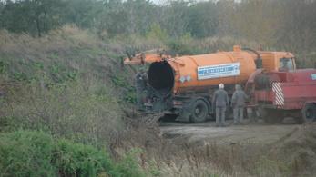 Kármentesítik a szippantósmaffia egykori lerakóhelyét