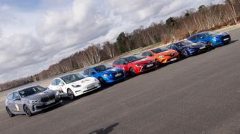 Év Autója-döntősök utolsó tesztelése