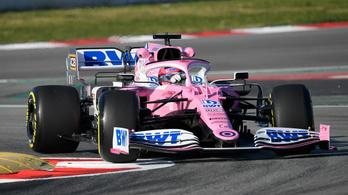 1,2 mp-ben belül a teljes mezőny az első F1-teszten