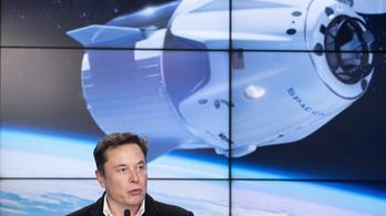 A SpaceX az ISS-nél kétszer magasabbra fogja repíteni az űrturistákat