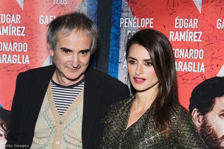 Olivier Assayas és Penélope Cruz
