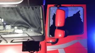 Halott sofőr egy magyar kamionban Ausztriában