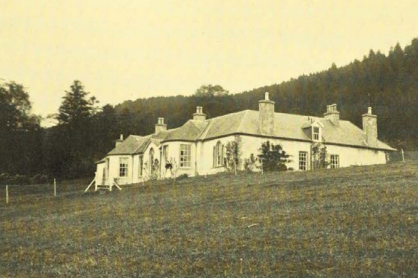 A Boleskine-ház 1912-ben.