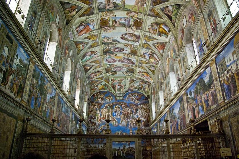 Így üzent a jövőnek Michelangelo? Titkos kódot rejthetett a Sixtus-kápolna freskójába