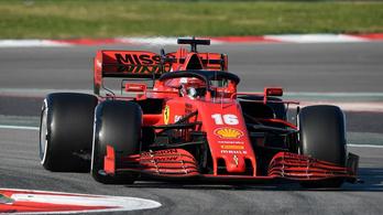 Nem a Ferrari napjával indult az F1-teszt