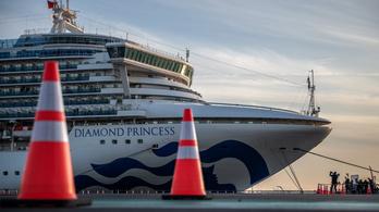Meghalt a Diamond Princess két japán utasa