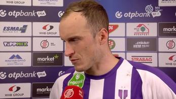 Kifakadt az Újpest futballistája: Hétről hétre ezt a szart hozzuk