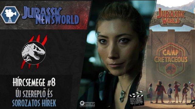 Jurassic Newsworld: Hírcsemege #8 - Új szereplő, hírek