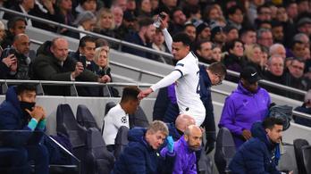 Tombolt a Tottenham sztárja, miután lecserélte Mourinho