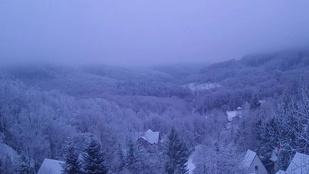 Havazott a Bükkben
