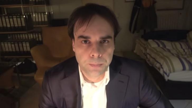 Tobias R. a támadást megelőzően készült videójában