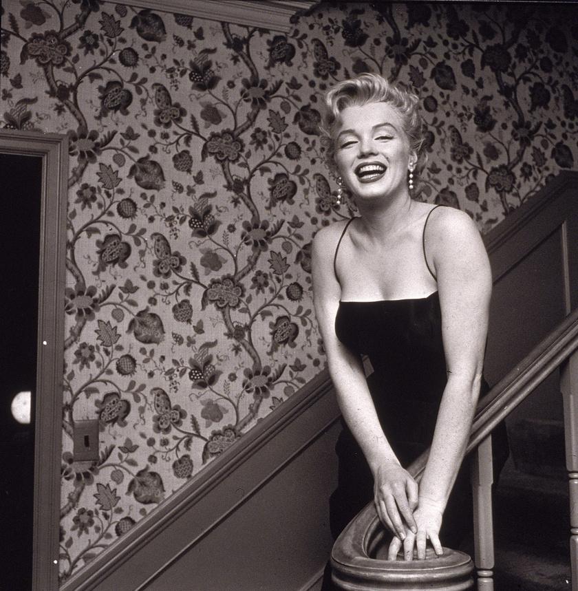 Marilyn Monroe szinte minden fotóján sugárzott.