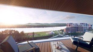 Új lakások hatalmas terasszal