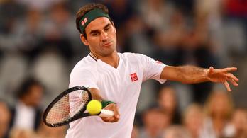 Térdsérülése miatt nem indul a Roland Garroson Roger Federer