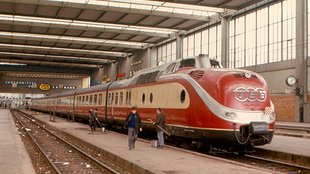 Európai elegancia: A Trans-Europ-Express