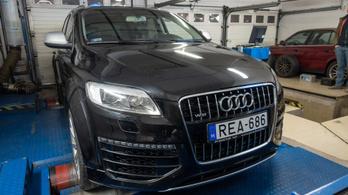 Totalcar Erőmérő: Audi Q7 V12 TDI