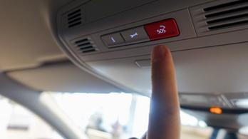Így működik az autók SOS-gombja