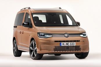 Fotókon az új VW Caddy