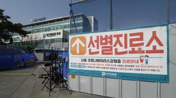 Koronavírus: Teljesen kiürült Dél-Korea negyedik legnagyobb városa