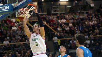 A kosárlabda-válogatott legyőzte az Európa-bajnok Szlovéniát