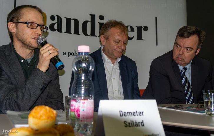 Demeter Szilárd, Hiller István, L. Simon László