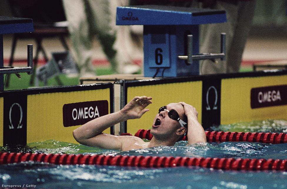 1988. Szöul. Szabó József (vagy Szabó Joe, ahogy mindenki hívta akkoriban) a 200 méteres mellúszás olimpiai bajnoka.