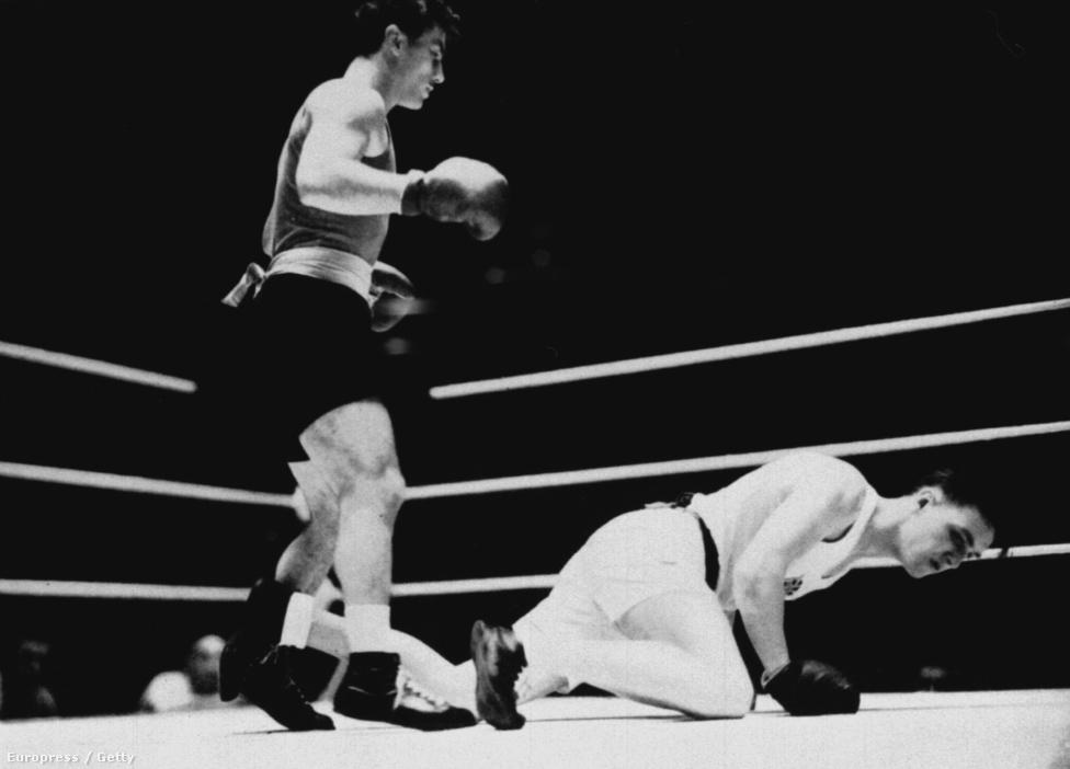 1948. London. Papp László középsúlyú ökölvívó első olimpiai aranyát szerezte Johnny Wright legyőzésével.