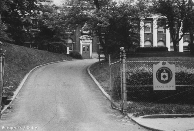 A CIA régi székháza